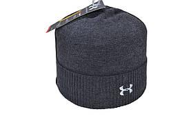 Шапка Caps Zone Under Armour 55-59 см Темно-сірий меланж (40917-24)
