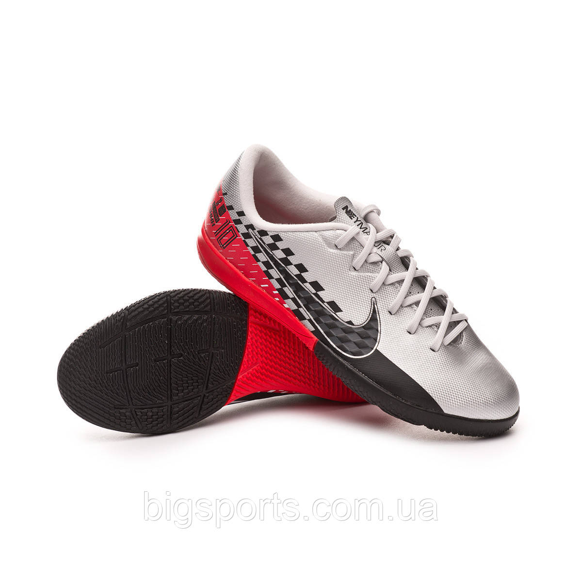 Бутсы футбольные для игры в зале дет. Nike Jr Vapor 13 Academy Njr IC (арт. AT8139-006), фото 1