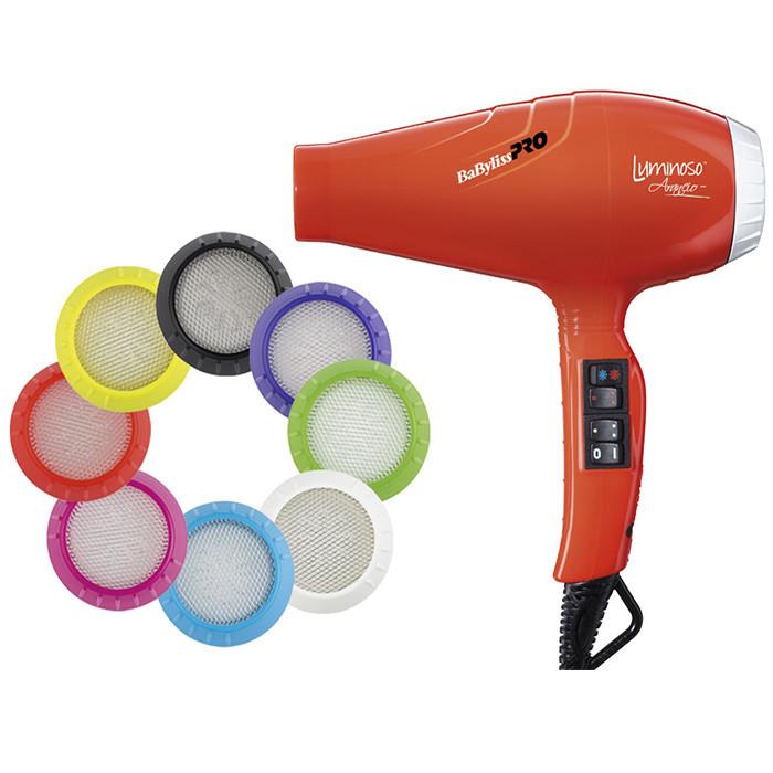 Фен для волос Babyliss BAB6350IOE Arancio профессиональный, 2100 Вт