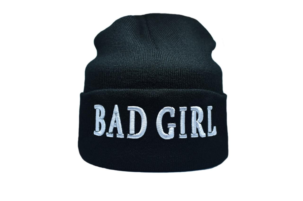 Шапка Flexfit Bad Girl 55-59 см Чёрный (F-09118-2)