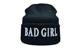 Шапка Flexfit Bad Girl 55-59 см Чорний (F-09118-2)