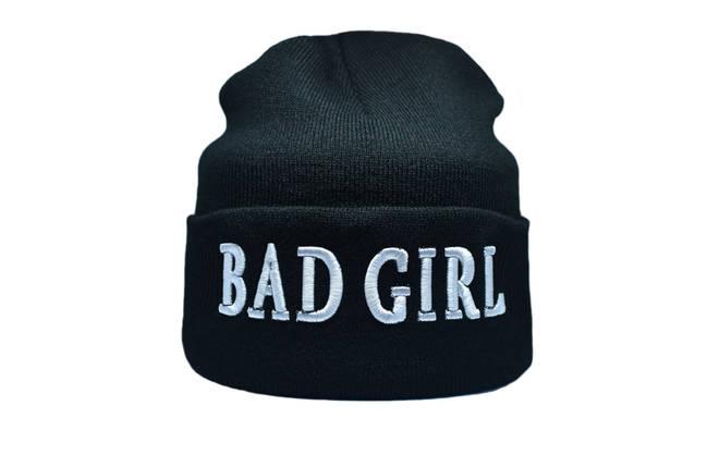 Шапка Flexfit Bad Girl 55-59 см Чёрный (F-09118-2), фото 2