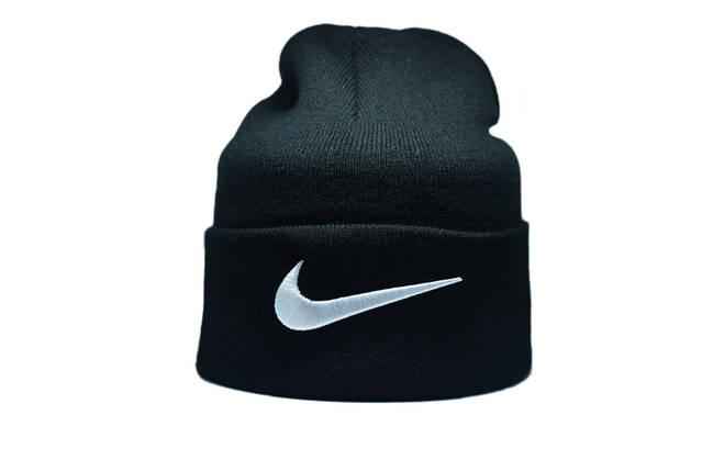 Шапка Flexfit Nike 55-59 см Чёрный (F-09118-3), фото 2