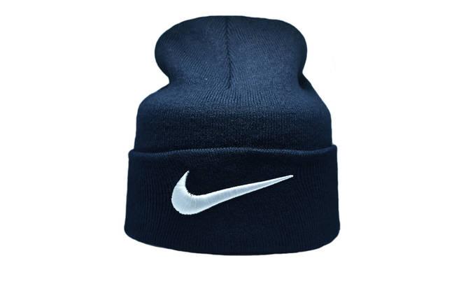 Шапка Flexfit Nike 55-59 см Темно-синий (F-09118-4), фото 2
