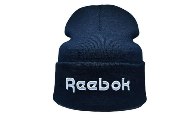 Шапка Flexfit Reebok 55-59 см Темно-синий (F-09118-7), фото 2