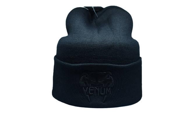 Шапка Flexfit Venum 55-59 см Чёрный (F-09118-13), фото 2