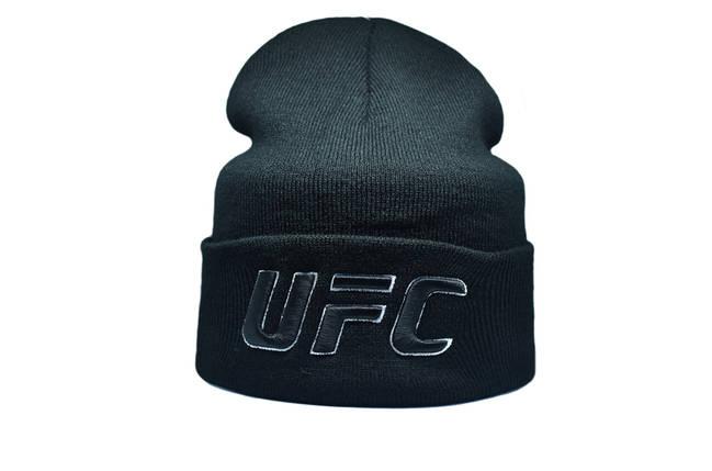 Шапка Flexfit UFC 55-59 см Чёрный (F-09118-14), фото 2