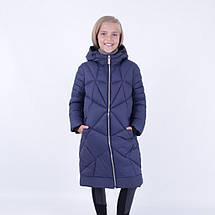 Дитяче зимове пальто на дівчинку Розэнна. SNOW IMAGE, фото 3