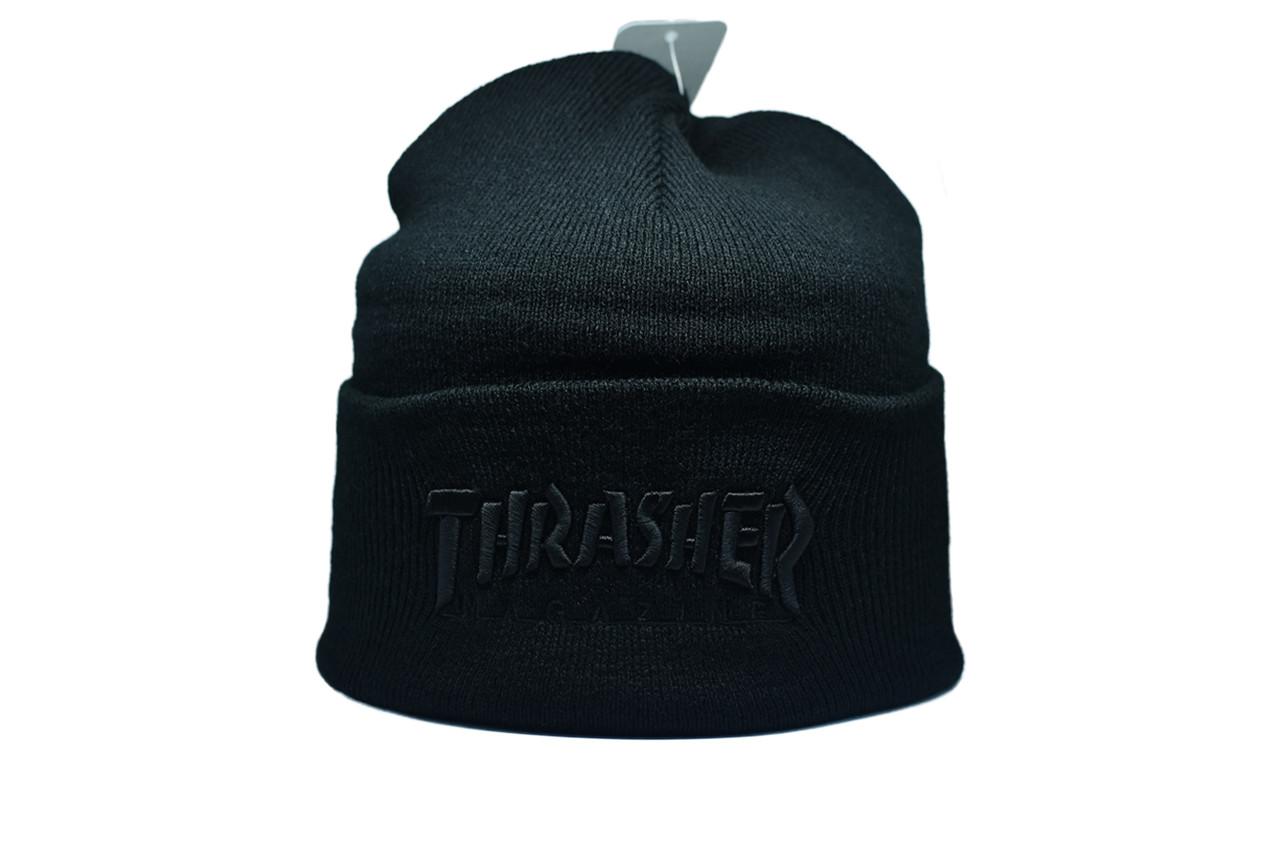 Шапка Flexfit Thrasher 55-59 см Чёрный (F-09118-32)