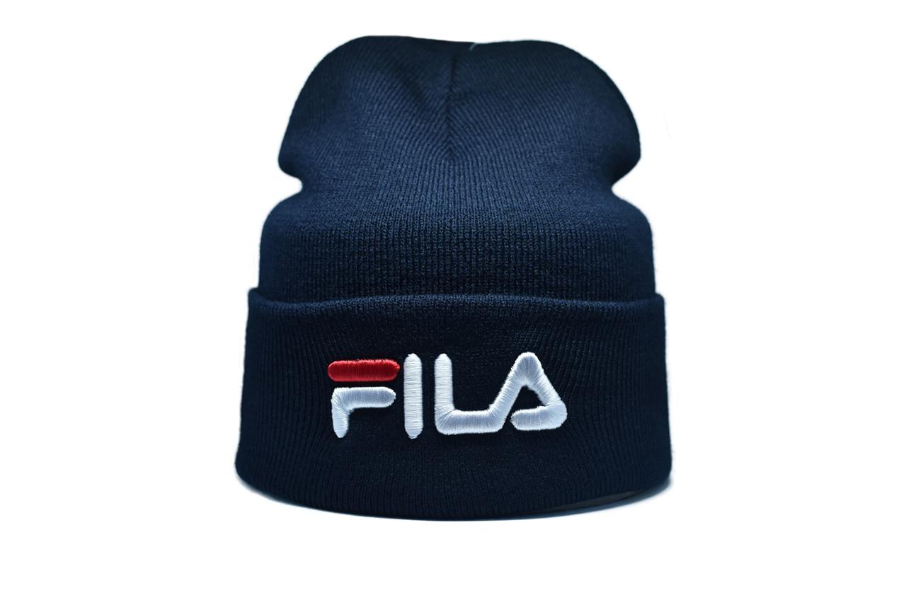 Шапка Flexfit Fils 55-59 см Темно-синий (F-09118-35)