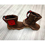 Ботинки детские Shoesyga бежевые Размер: 30-35, фото 5