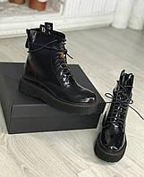 Комфортные женские ботинки R13 натуральная кожа (реплика), фото 1