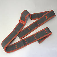 Резинка для растяжки 8 петель(эспандер MS 2238-2) оранжевый