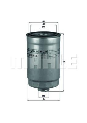 Фильтр топливный Mahle HYUNDAI SANTA FE 2.0CRDI 04-; KIA CERATO/ SPORTAGE II Украина Харьков