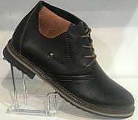 Ботинки на байке мужские кожаные от производителя модель Г2115Д