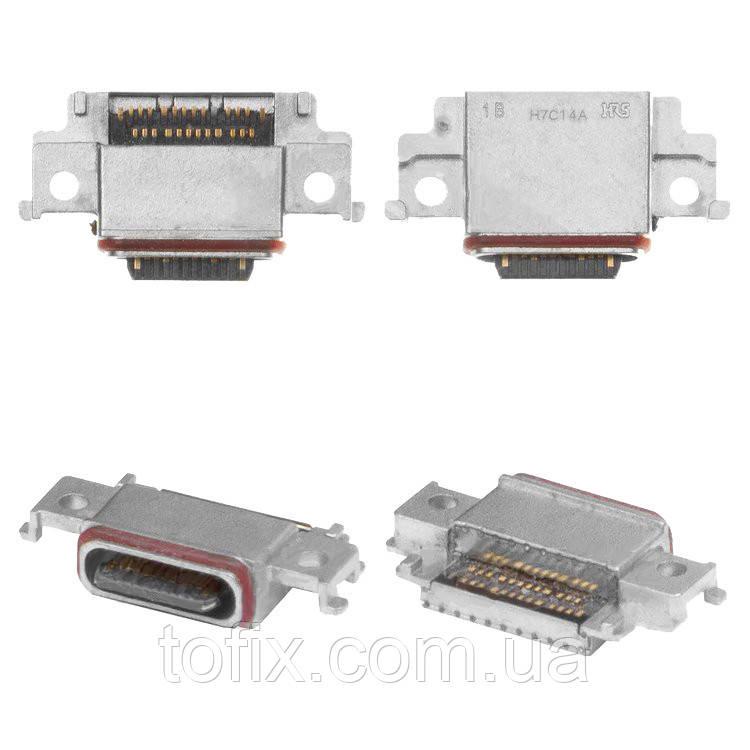 Коннектор зарядки для Samsung Galaxy A8 (2018) A530F, A530F/DS, USB тип-C, оригинал