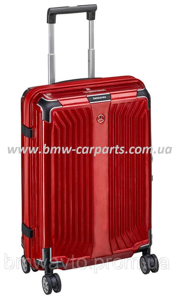 Чемодан Samsonite Lite-Box, Spinner 69, розмір M, червоний, Mercedes