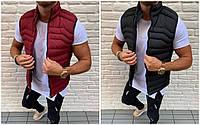 Мужская жилетка на синтепоне 4 цвета