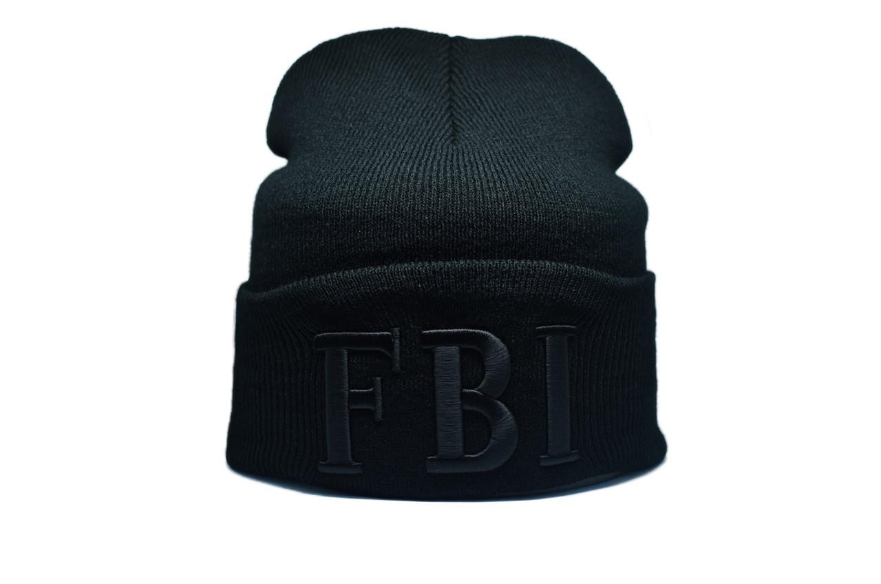 Шапка Flexfit FBI 55-59 см Чёрный (F-09118-46)