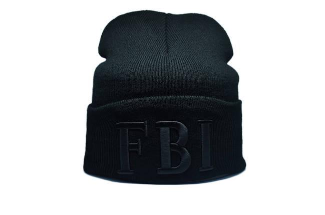 Шапка Flexfit FBI 55-59 см Чёрный (F-09118-46), фото 2
