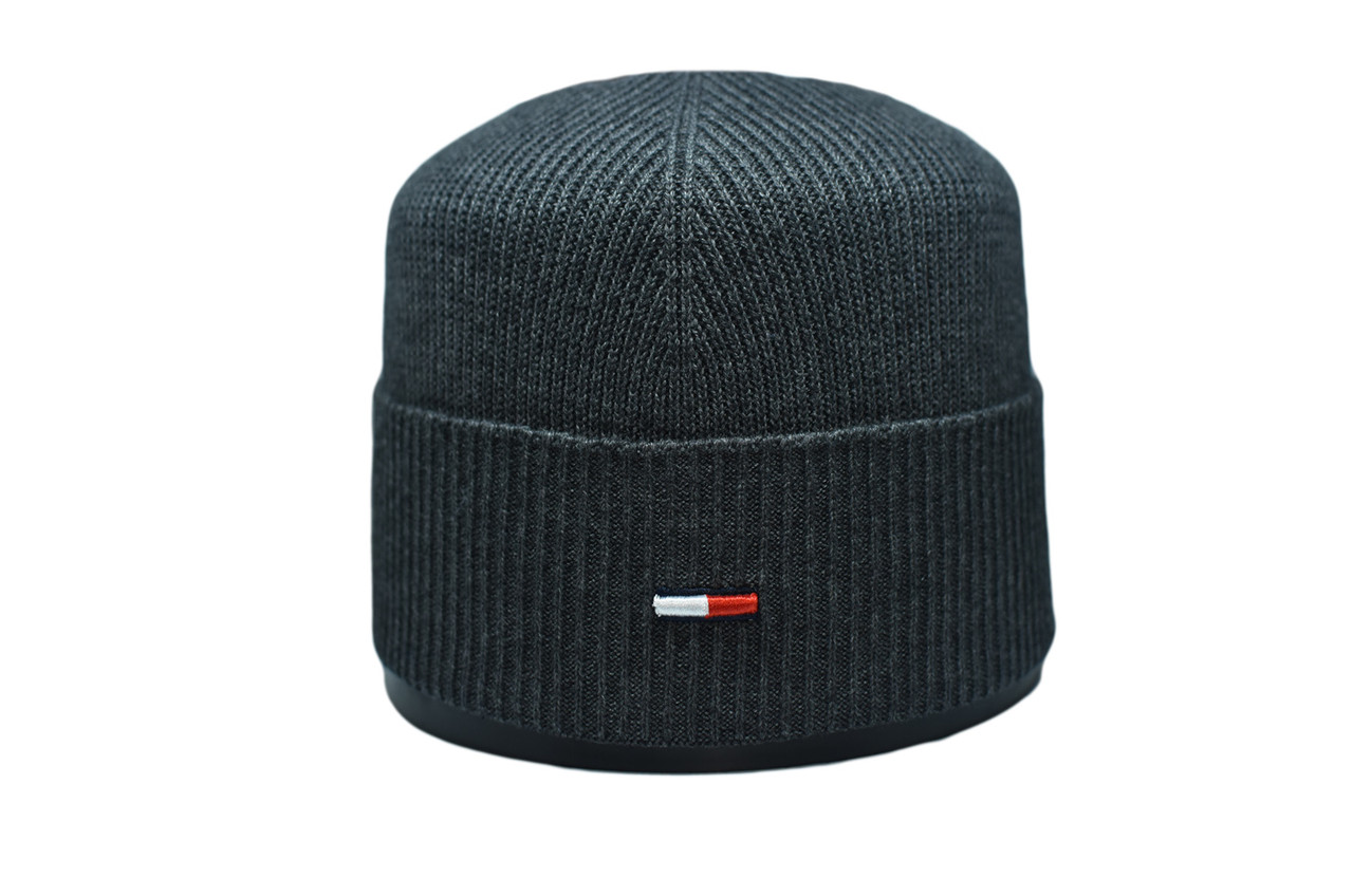Шапка Caps Zone   55-59 см Темно-серый меланж (CZ 10118-4)