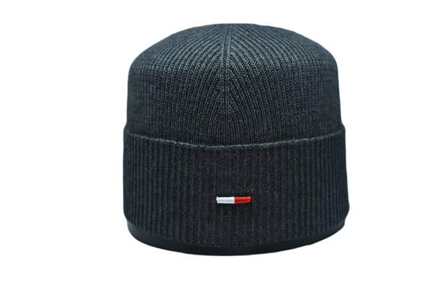 Шапка Caps Zone   55-59 см Темно-серый меланж (CZ 10118-4), фото 2