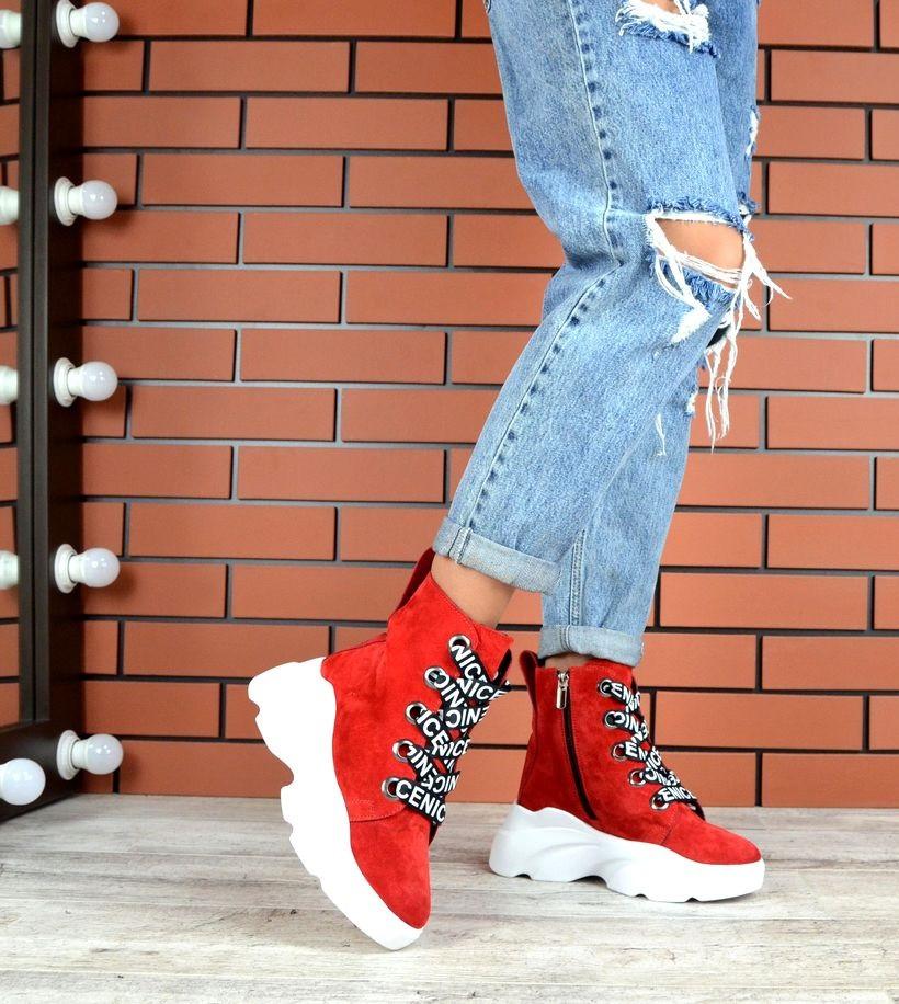 Демисезонные ботиночкиНатуральная ЗАМША