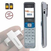 Супер тонкий мобильный телефон Nokia D999.На две сим карты, фото 1