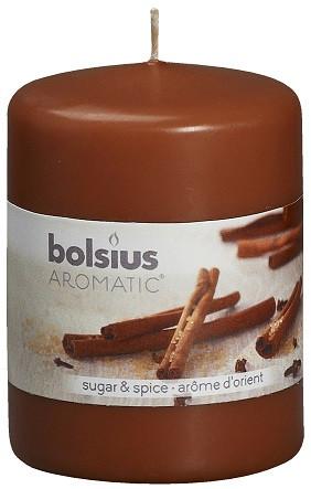 Свеча ароматическая корица Bolsius 8 см (60/80-65)