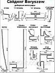 Планка сайдинг Boryszew J-trim 1/2, фото 2
