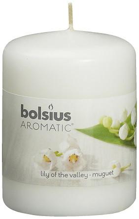 Свеча ароматическая ландыш Bolsius 8 см (60/80-12)