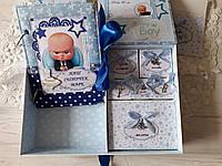 Шкатулка мамины сокровища и альбом, набор детский, шкатулка с  боссом, босс молокосос