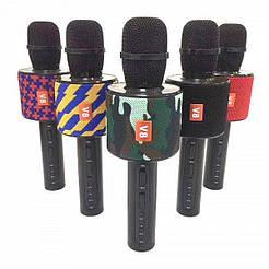 Микрофон с функцией караоке JBL V8 White Karaoke Charge Original size