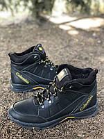 Мужские ботинки из натуральной кожи и шерстяного меха AV 790 41