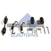 Ремкомплект барабанной тормозной колодки d25,5/d31,7x57 ROR \AXL14 \ 085.529
