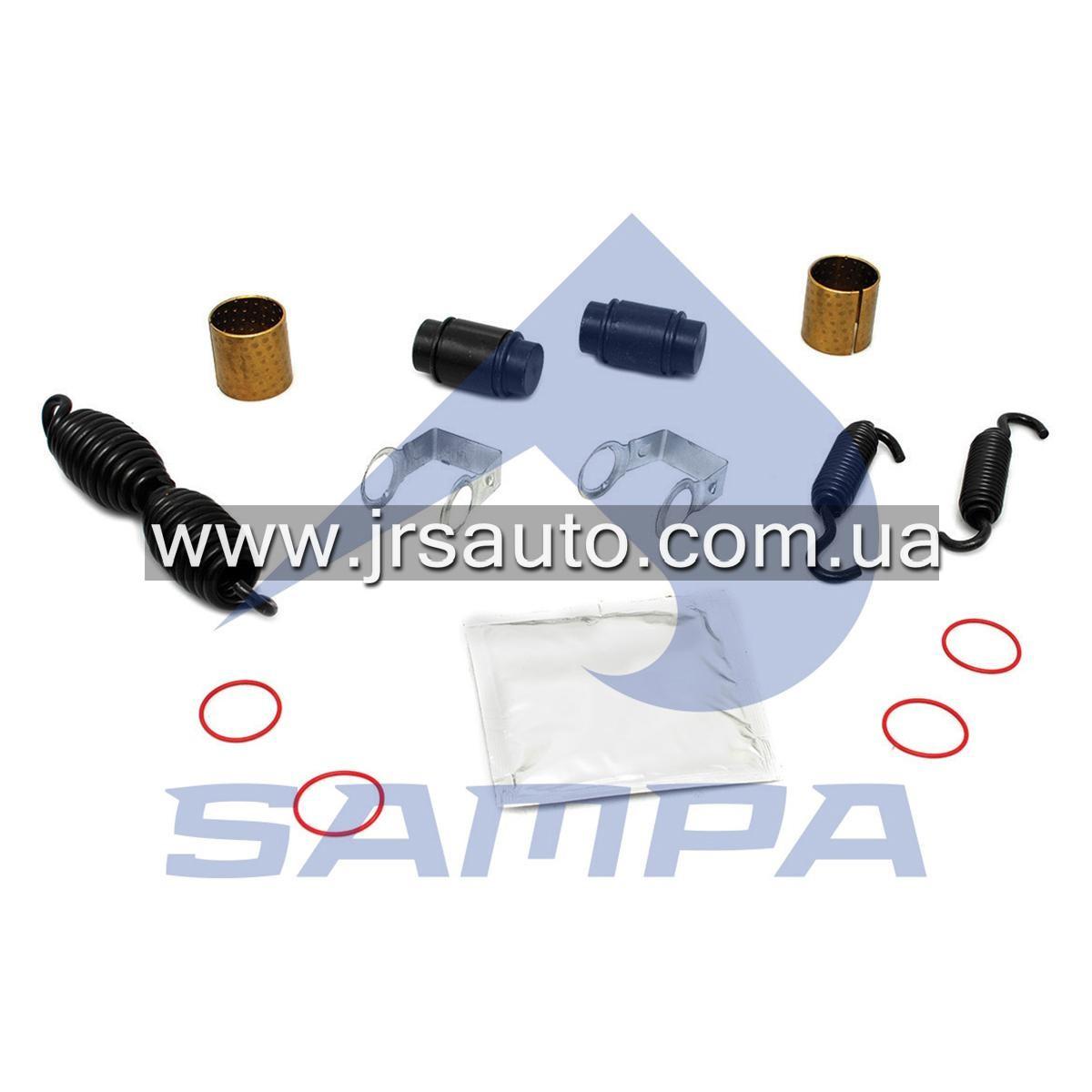 Ремкомплект барабанной тормозной колодки d19/d31,7x55,5 ROR \085.530