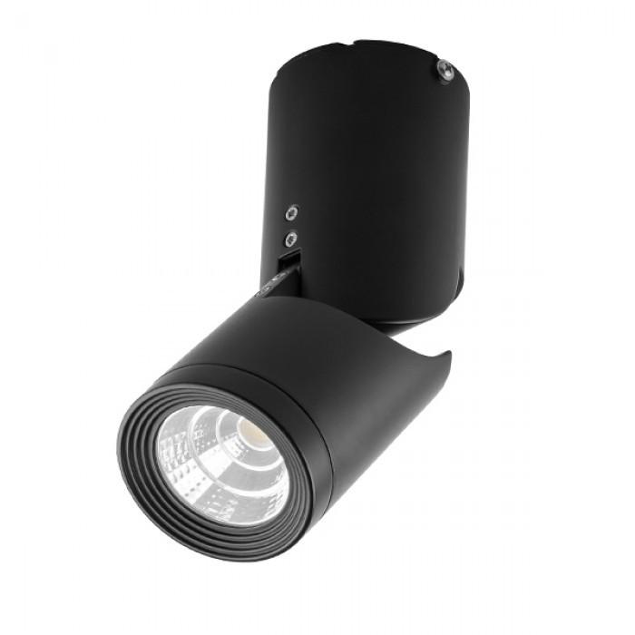 Светодиодный светильник накладной Feron AL517 COB  10W черный