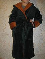 Тепла махровий халат, фото 1