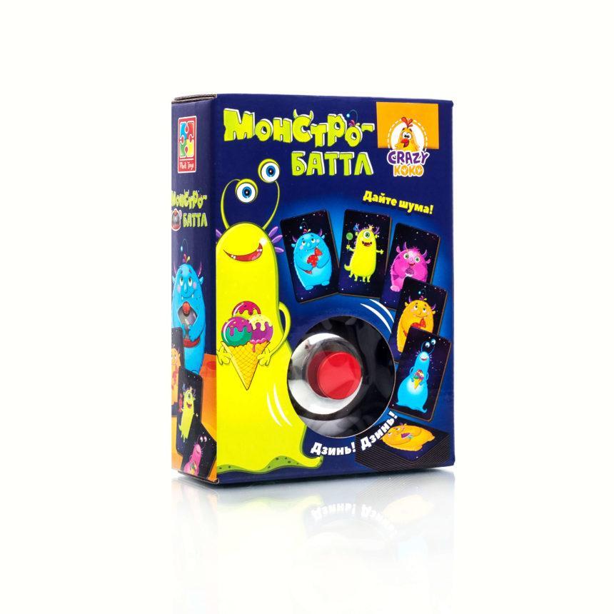 Игра со звонком Vladi Toys Монстро-баттл (Рус) (VT8010-02)