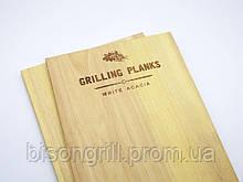 Планки для копчения акация  BisonGrill  (2 шт)  25х15 см