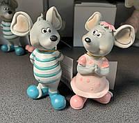 Набор из 2 статуэток Влюбленные Мышки 192-055. Символ 2020 года