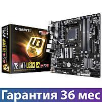 Материнская плата сокет AM3/AM3+ Gigabyte GA-78LMT-USB3 R2