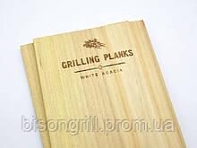 Планки для гриля из акации  BisonGrill  (2 шт)  30х15 см