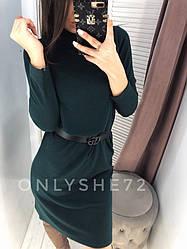 Платье женское ангора  теплое размер 42 44 46 Новинка 2019  есть много цветов