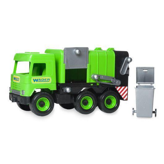 """Авто """"Middle truck"""" мусоровоз (зеленый) в коробке Tigres"""