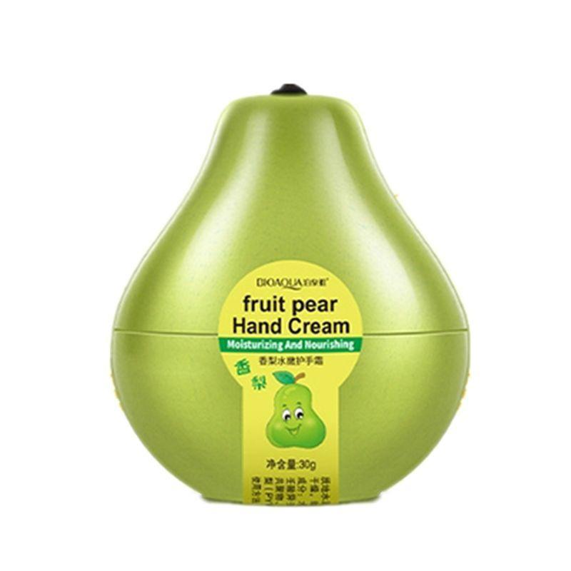 Увлажняющий и питательный крем для рук Груша BIOAQUA Fruit Pear Hand Cream