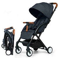 Коляска Aby IndiGo 717 dark gray