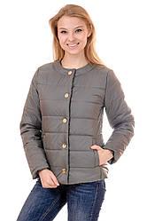 Куртка женская демисезонная FK135 (оливковый)