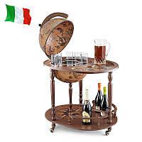 Глобус бар Zoffoli 550007 72×53×93 см коричневый