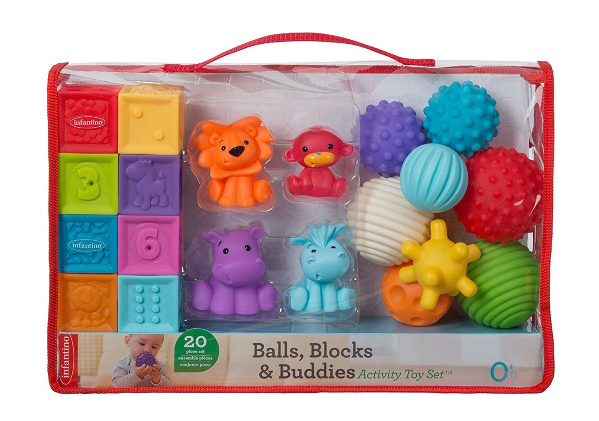Большой Подарочный набор развивающих игрушек Infantino